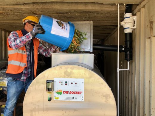 A900 Rocket Composter - Tidy Planet