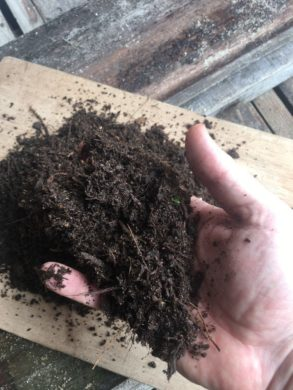 Soil resource from the A900 Rocket Composter