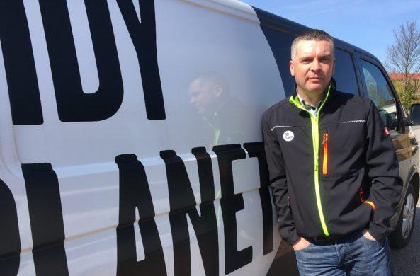 Huw Crampton - Sales manager at Tidy Planet