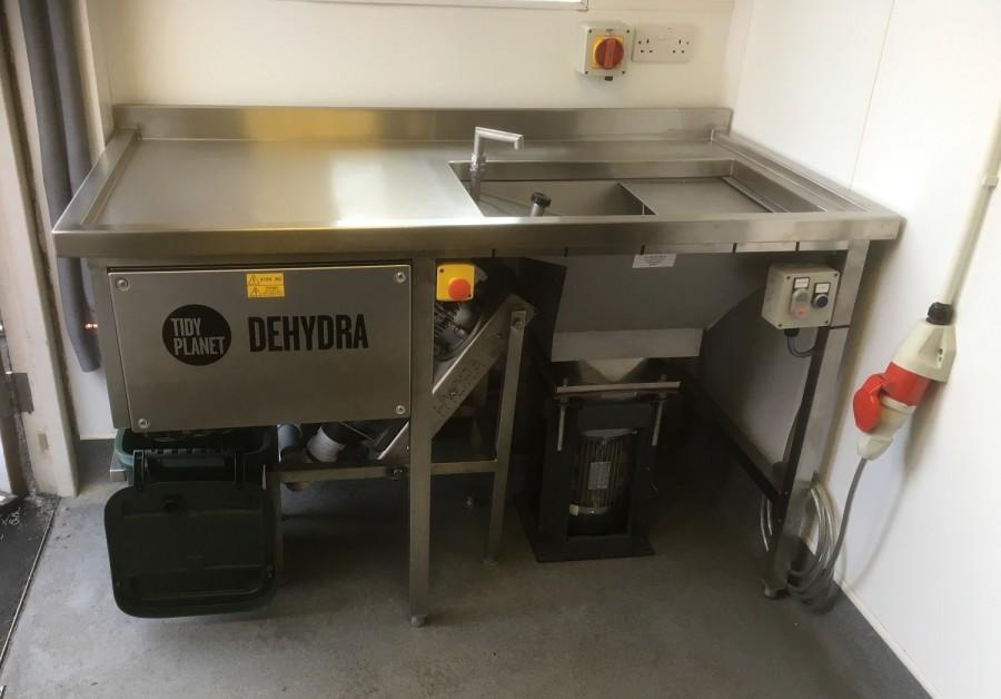 Dehydra food waste dewatering