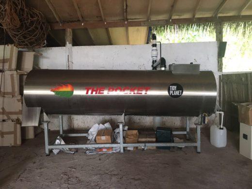 Rocket Composter at Gili Lankanfushi