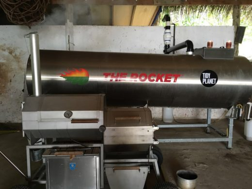 A900 Rocket Composter in the Maldives