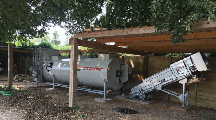 A1200 Rocket Composter - Le Manoir