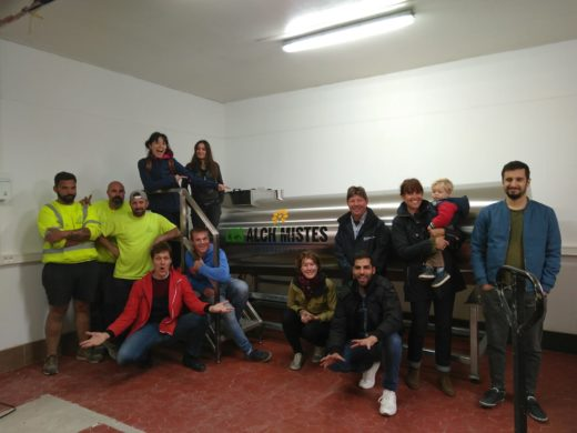 Les Alchimistes expands composting project with Tidy Planet Rocket Composter