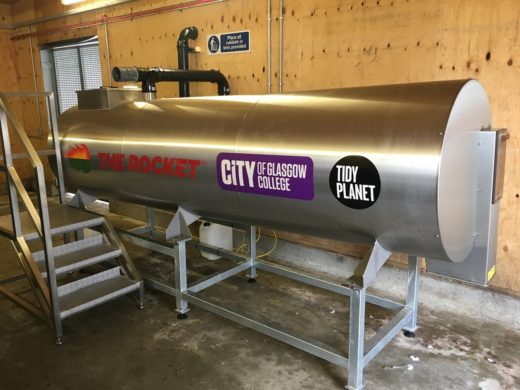 Rocket Composter - City of Glasgow College
